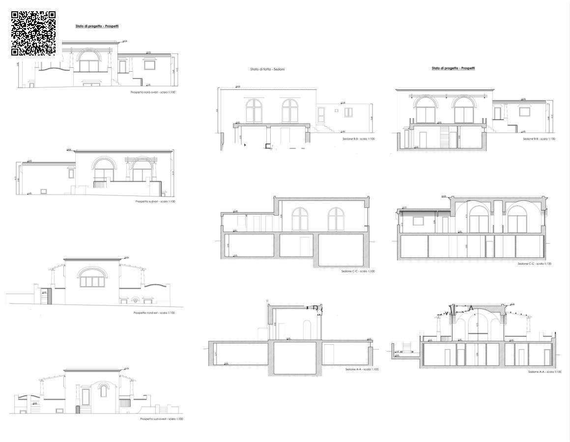 Villa vendita ANACAPRI (NA) - 7 LOCALI - 200 MQ