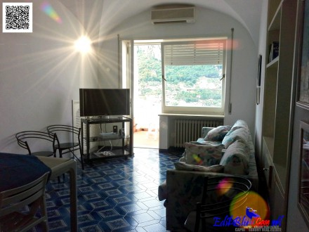 Magnificent apartment with sea view terrace a short walk from the small square 🛁 2 🛌 2